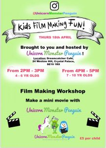 Kids' Film Making Fun with Unicorn Monster Penguin